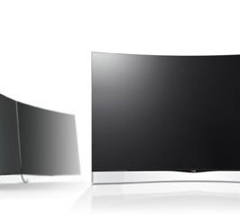 Primer televisor OLED curvo del mundo.